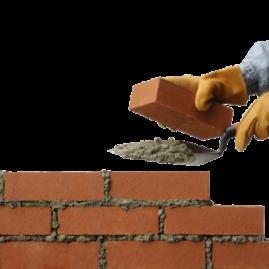 Кладка кирпича. Газо-пено бетона